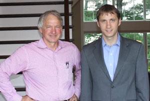 Jim and David Sieradzki