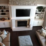 Built-In Entertainment Center in Great Room