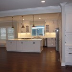 Open Concept Kitchen and Storage