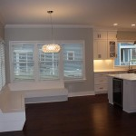 Bench Seating with Open Concept Kitchen