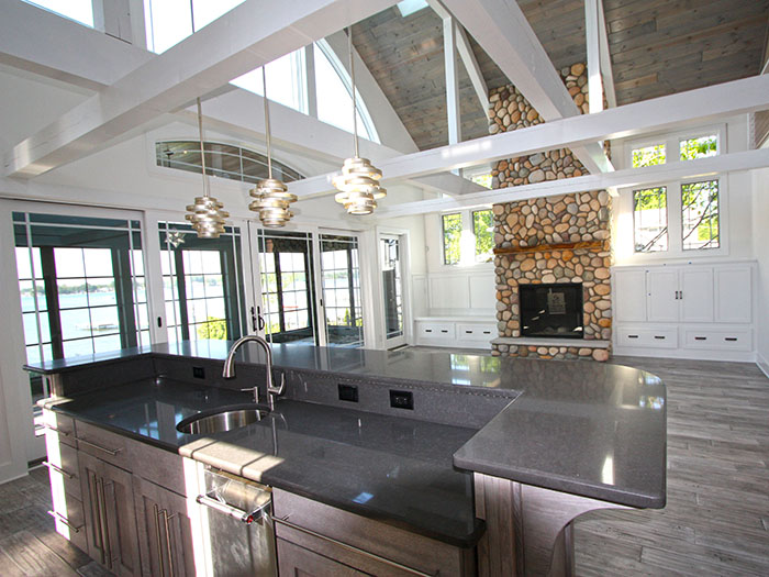 Kitchen Overlooking Great Room