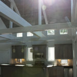 Vaulted Ceiling in Kitchen