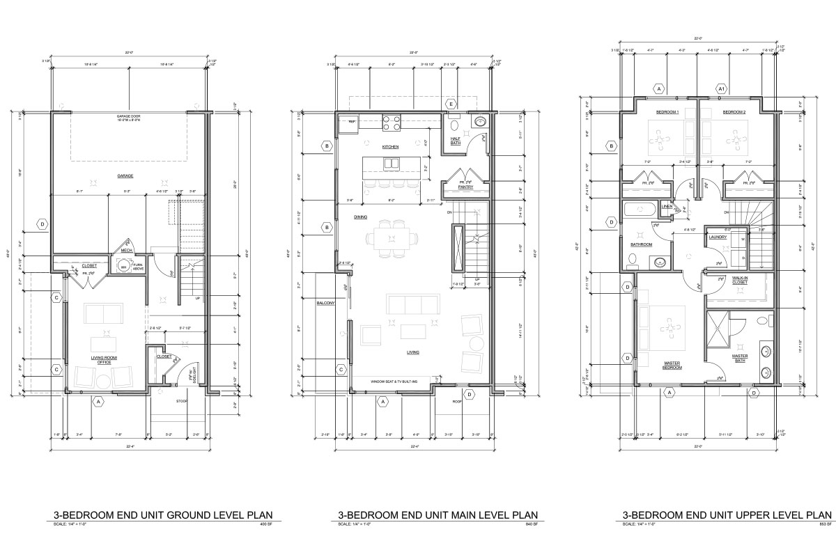 3BR-Townhome-End-Unit-Floorplan