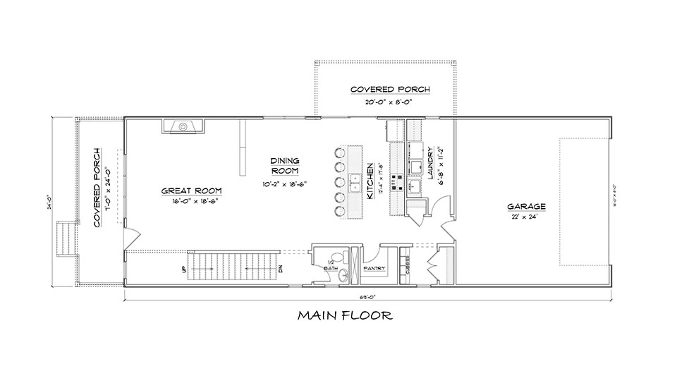 Riverwalk Lot 15 Main Level